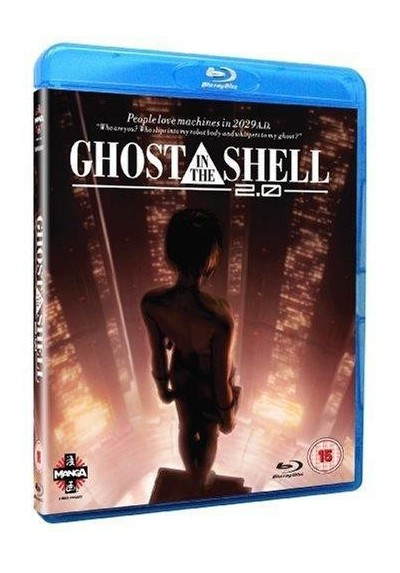 Ghost In The Shell 2.0 (Blu-Ray + Dvd)