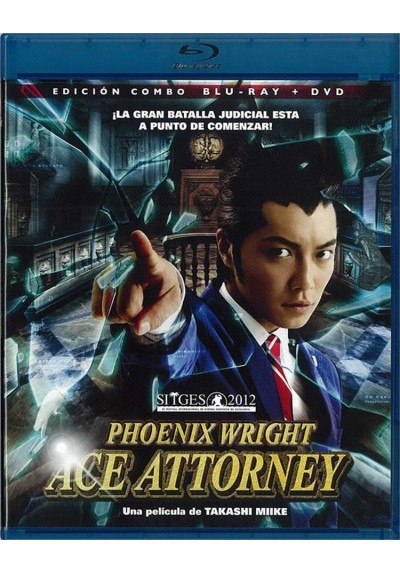 Phoenix Wright Ace Attorney (Blu-Ray + Dvd)