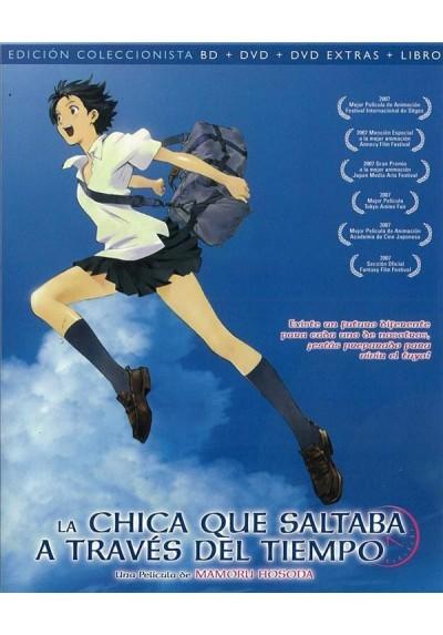 La Chica Que Saltaba A Traves Del Tiempo (Blu-Ray + Dvd + Libro)