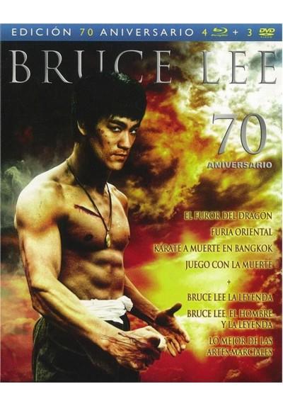 Bruce Lee - Edicion 70 Aniversario (Blu-Ray + Dvd)