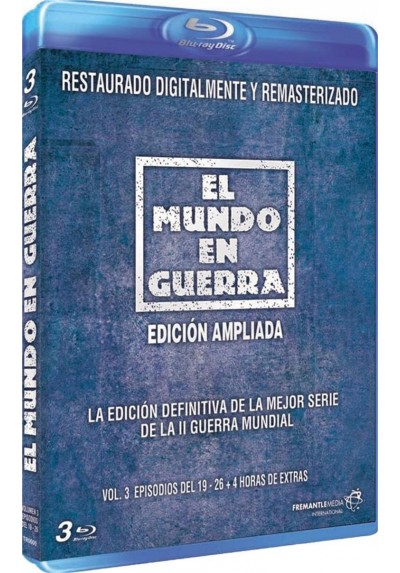 El Mundo En Guerra - Vol. 3 (Blu-Ray) (The World At War)