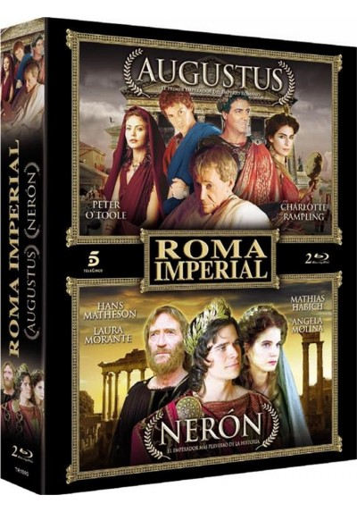 Pack Roma Imperial (Blu-Ray)