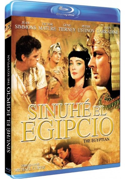 Sinuhe El Egipcio (Blu-Ray) (BD-R) (The Egyptian)