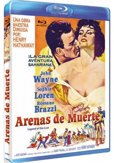 Arenas De Muerte (Blu-Ray) (Legend Of The Lost)