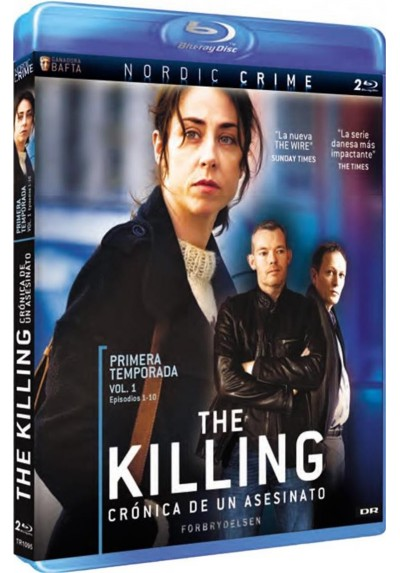The Killing : Primera Temporada - Vol. 1 (Blu-Ray) (Forbrydelsen)