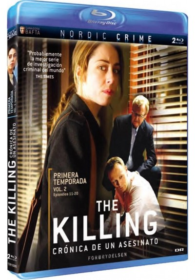 The Killing : Primera Temporada - Vol. 2 (Blu-Ray) (Forbrydelsen)