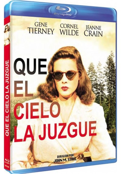 Que El Cielo La Juzgue (Blu-Ray) (Leave Her To Heaven)