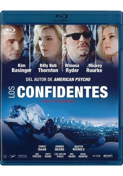 Los Confidentes (Blu-Ray) (The Informers)