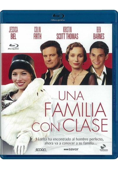 Una Familia Con Clase (Blu-Ray) (Easy Virtue)