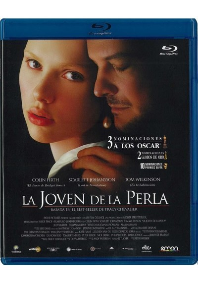 La Joven De La Perla (Blu-Ray) (Girl With A Pearl Earring)