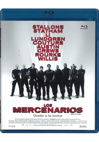 Los Mercenarios (Blu-Ray) (The Expendables)