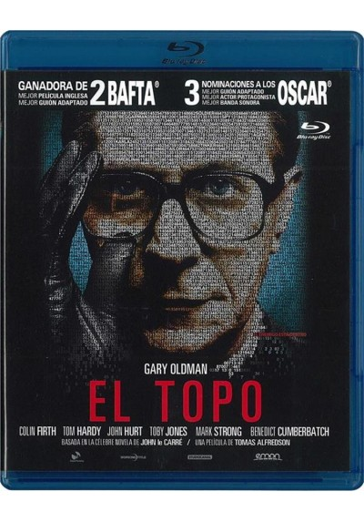 El Topo (2011) (Blu-Ray) (Tinker, Tailor, Soldier, Spy)