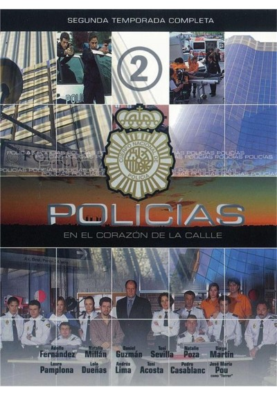 Policias, En El Corazon De La Calle (2ª Temporada)