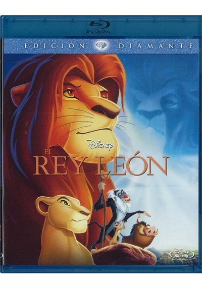El Rey Leon (The Lion King) (Blu-Ray)