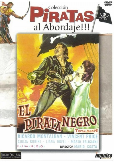 El Pirata Negro (Gordon, Il Pirata Nero)