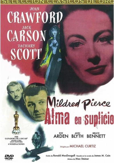 Alma En Suplicio (Clasicos De Oro) (Mildred Pierce)