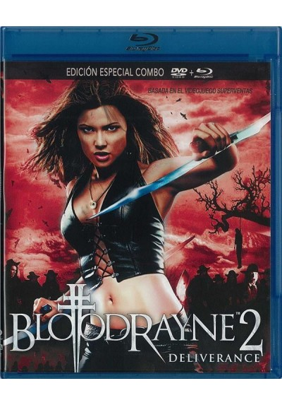 Bloodrayne 2 : Deliverance (Blu-Ray + Dvd)