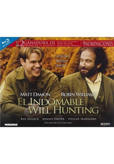El Indomable Will Hunting (Blu-Ray) (Ed. Horizontal)