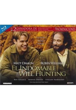 El Indomable Will Hunting (Blu-Ray) (Ed. Horizontal)
