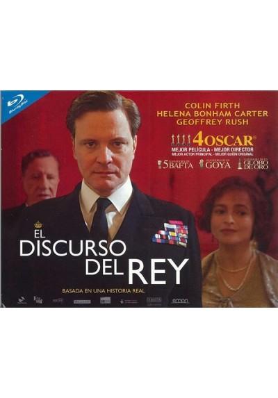 El Discurso Del Rey (Blu-Ray) (Ed. Horizontal)