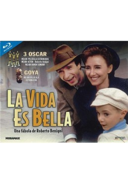 La Vida Es Bella (Blu-Ray) (Ed. Horizontal)