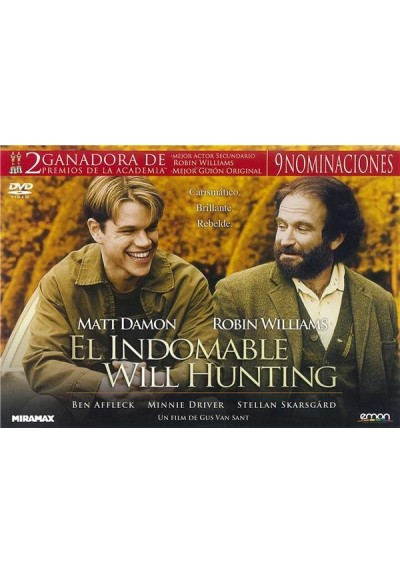 El Indomable Will Hunting (Ed. Horizontal)
