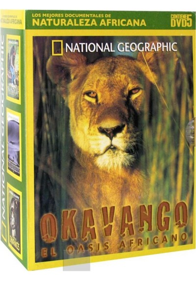 Pack Naturaleza Africana (National Geographic)