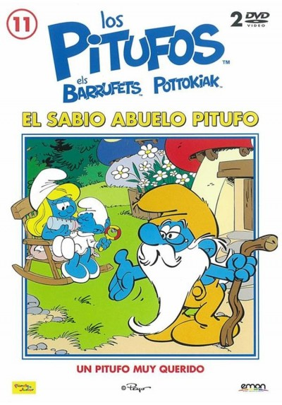 Los Pitufos - Vol. 11 : El Sabio Abuelo Pitufo
