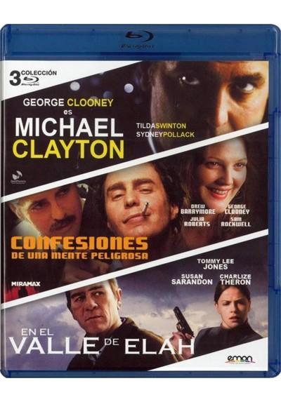 Michael Clayton / Confesiones De Una Mente Peligrosa / En El Valle De Elah (Blu-Ray)