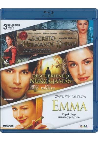El Secreto De Los Hermanos Grimm / Descubriendo Nunca Jamas / Emma (Blu-Ray)