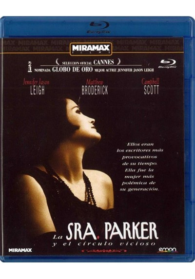 La Sra. Parker Y El Circulo Vicioso (Mrs. Parker And The Vicious Circle) (Blu-Ray)