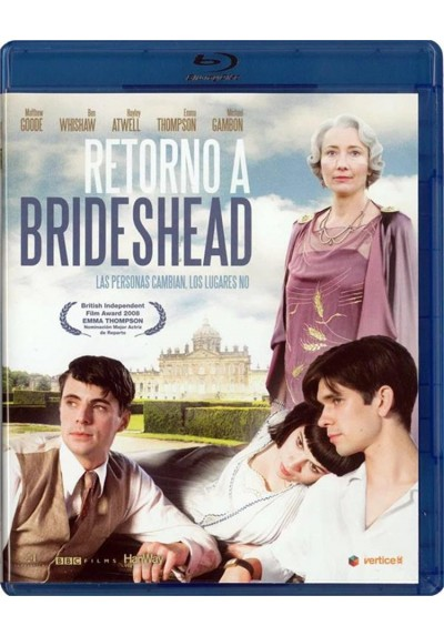 Retorno A Brideshead (2008) (Brideshead Revisited) (Blu-Ray)