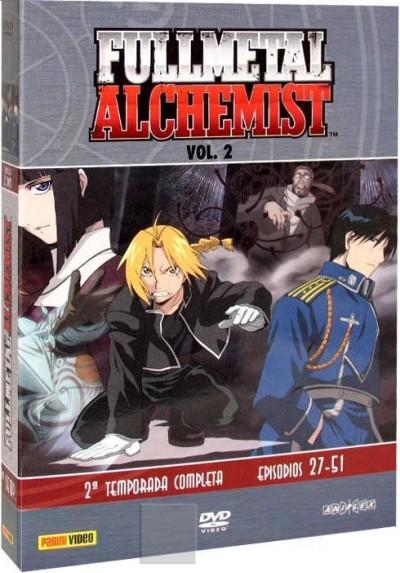 Fullmetal Alchemist Vol.2 - Temporada Completa