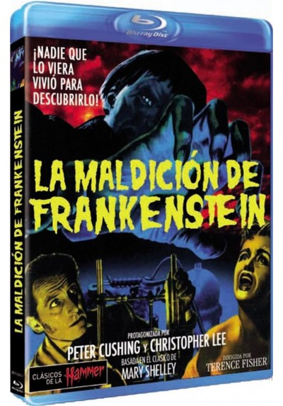 La Maldicion De Frankenstein (The Curse Of Frankenstein) (Blu-Ray)