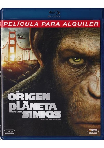 El Origen Del Planeta De Los Simios (Blu-Ray) (Rise Of The Planet Of The Apes)