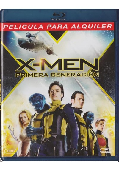X-Men : Primera Generacion (Blu-Ray) (X-Men: First Class)