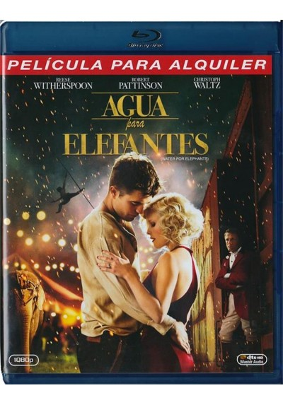 Agua Para Elefantes (Blu-Ray) (Water For Elephants)