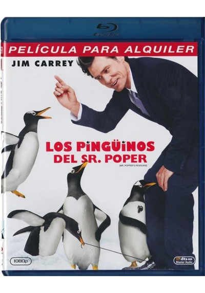 Los Pingüinos Del Sr. Popper (Blu-Ray) (Mr. Popper'S Penguins)