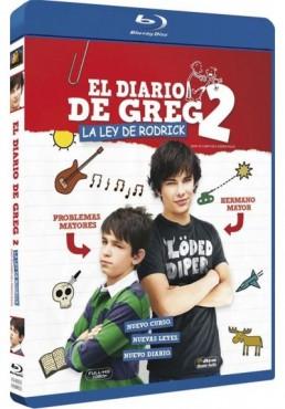 El Diario De Greg 2 : La Ley De Rodrick (Blu-Ray) (Diary Of A Wimpy Kid 2: Rodrick Rules)