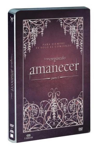 La Saga Crepusculo : Amanecer - Parte I (Ed. Metalica)