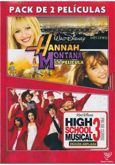 Pack Hannah Montana : La Pelicula / High Shool Musical 3 : Fin De Curso (Ed. Ampliada)