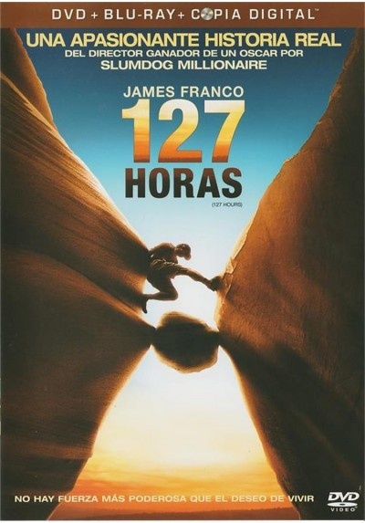 127 Horas (127 Hours) (Blu-Ray + DVD + Copia Digital)