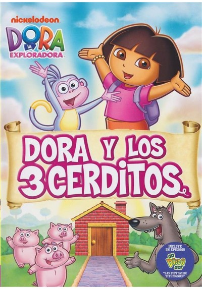 Dora La Exploradora : Dora Y Los 3 Cerditos (Dora The Explorer)
