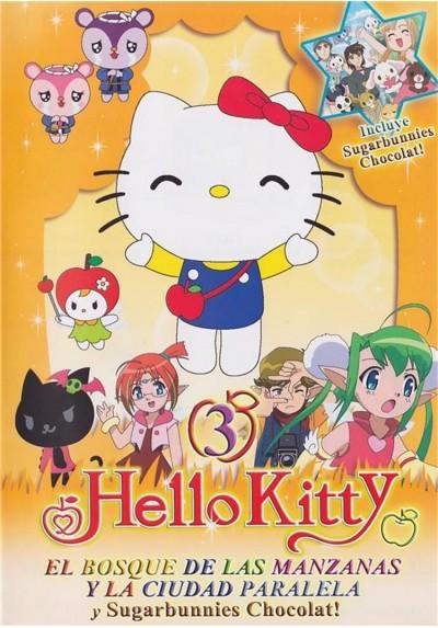 Hello Kitty : El Bosque De Las Manzanas Y La Ciudad Paralela - Vol. 3