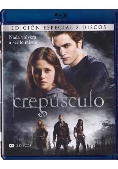 Crepusculo (Blu-Ray) (Twilight)