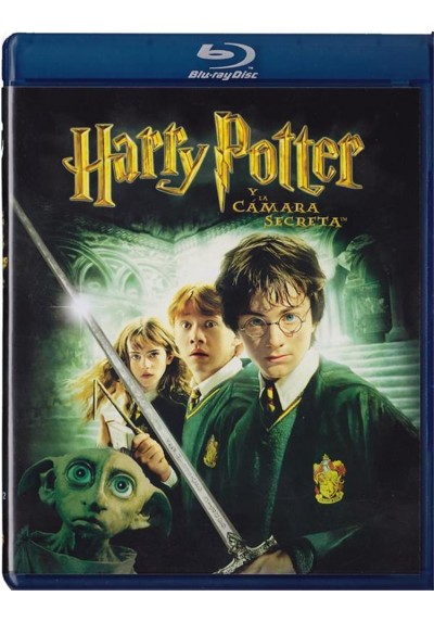 Harry Potter Y La Camara Secreta (Blu-Ray) (The Chamber Of Secrets)