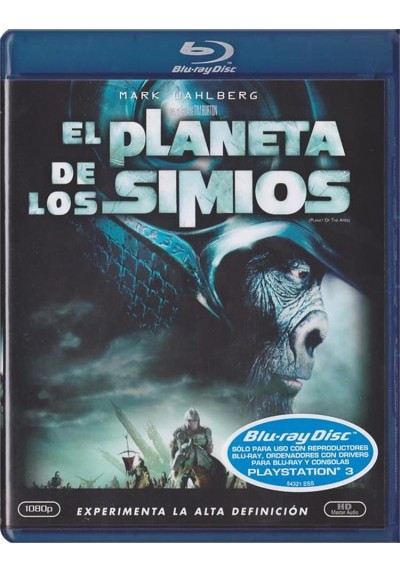 El Planeta De Los Simios (2001) (Blu-Ray) (Planet Of The Apes)