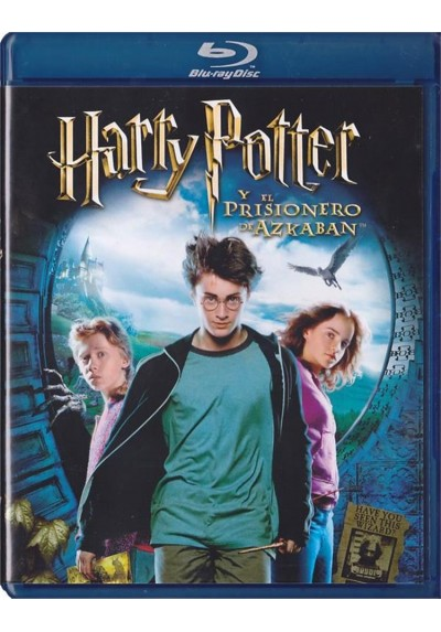 Harry Potter Y El Prisionero De Azkaban (Blu-Ray)