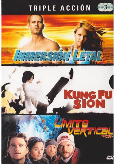 Triple Accion : Inmersion Letal / Kung-Fu-Sion / Limite Vertical