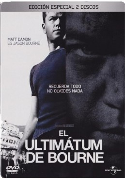 El Ultimatum De Bourne (Ed. Limitada - Metalica) (The Bourne Ultimatum)